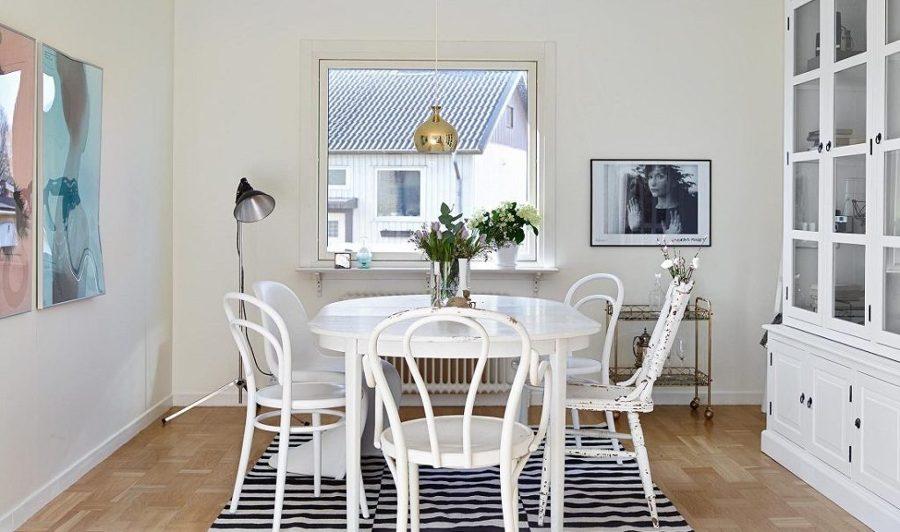 Apuesta por la mezcla decorando con sillas ideas decoradores for Comedor escandinavo