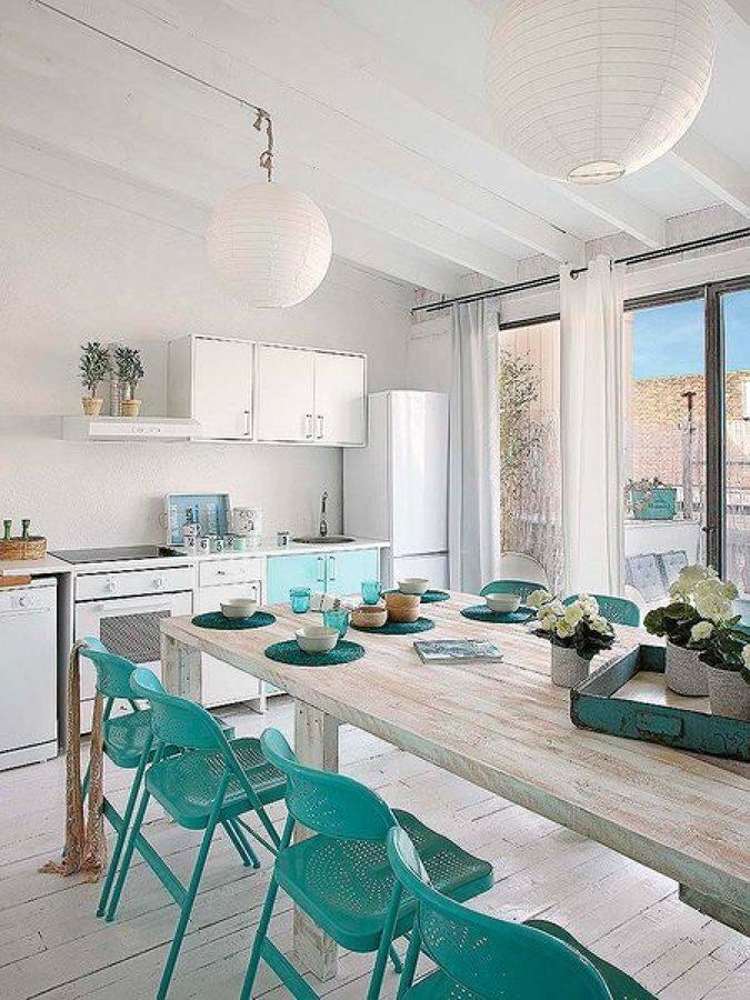 Foto comedor estilo mediterr neo de miv interiores 1201445 habitissimo - Muebles estilo mediterraneo ...