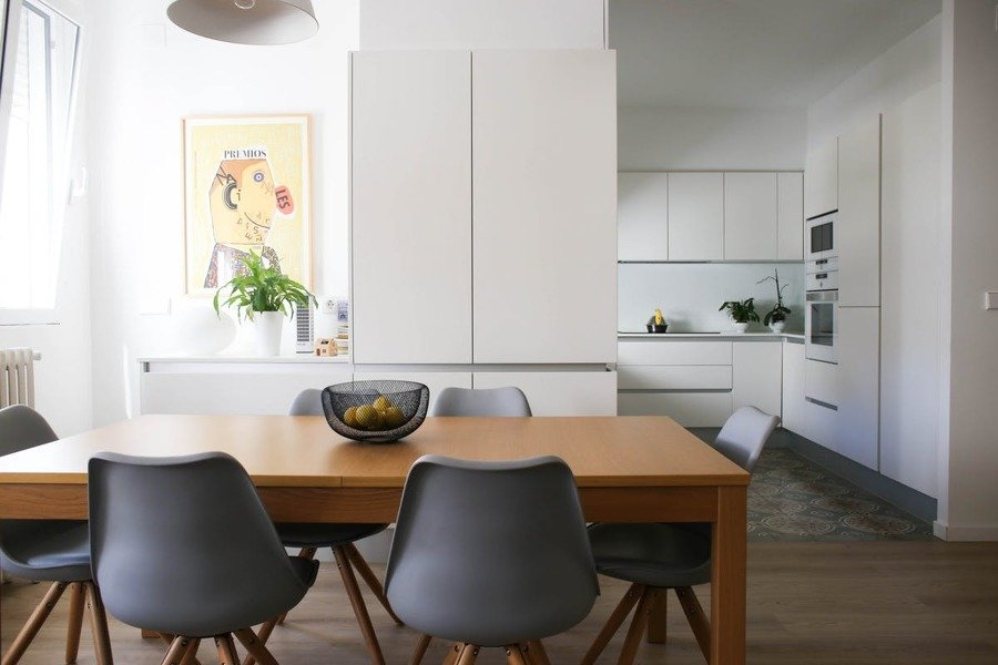 C mo conseguir el perfecto look minimalista ideas for Salon comedor minimalista