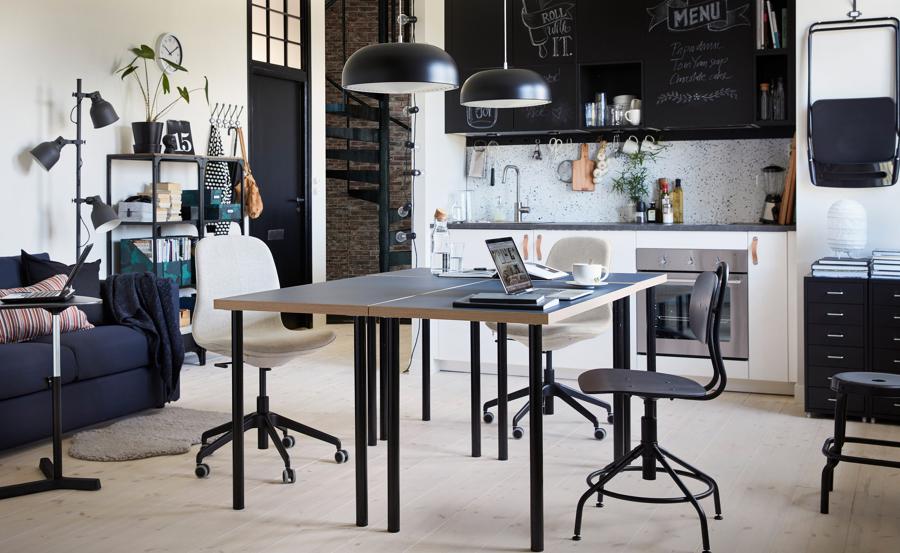 Comedor-oficina IKEA
