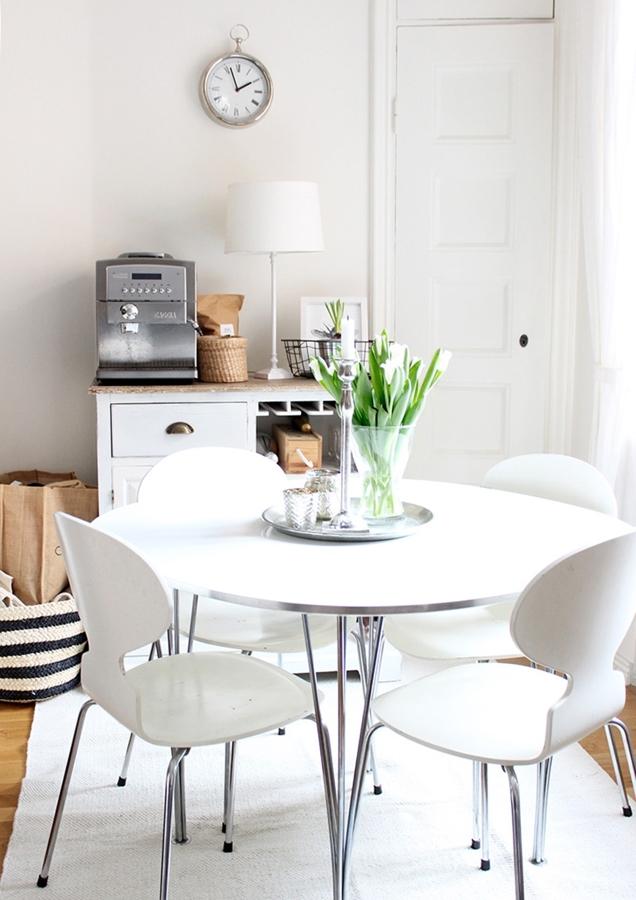 Soluciones pr cticas para comedores peque os ideas for Muebles comedores pequenos