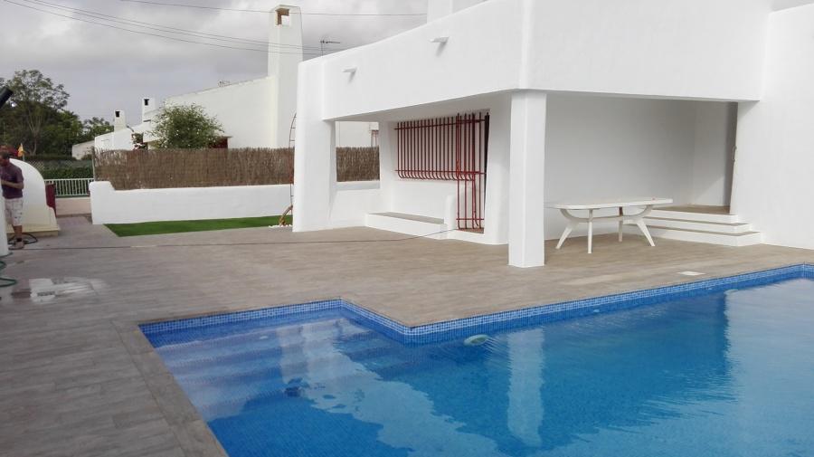 Construcci n de piscina en santiago de la ribera murcia for Construccion de piscinas en santiago