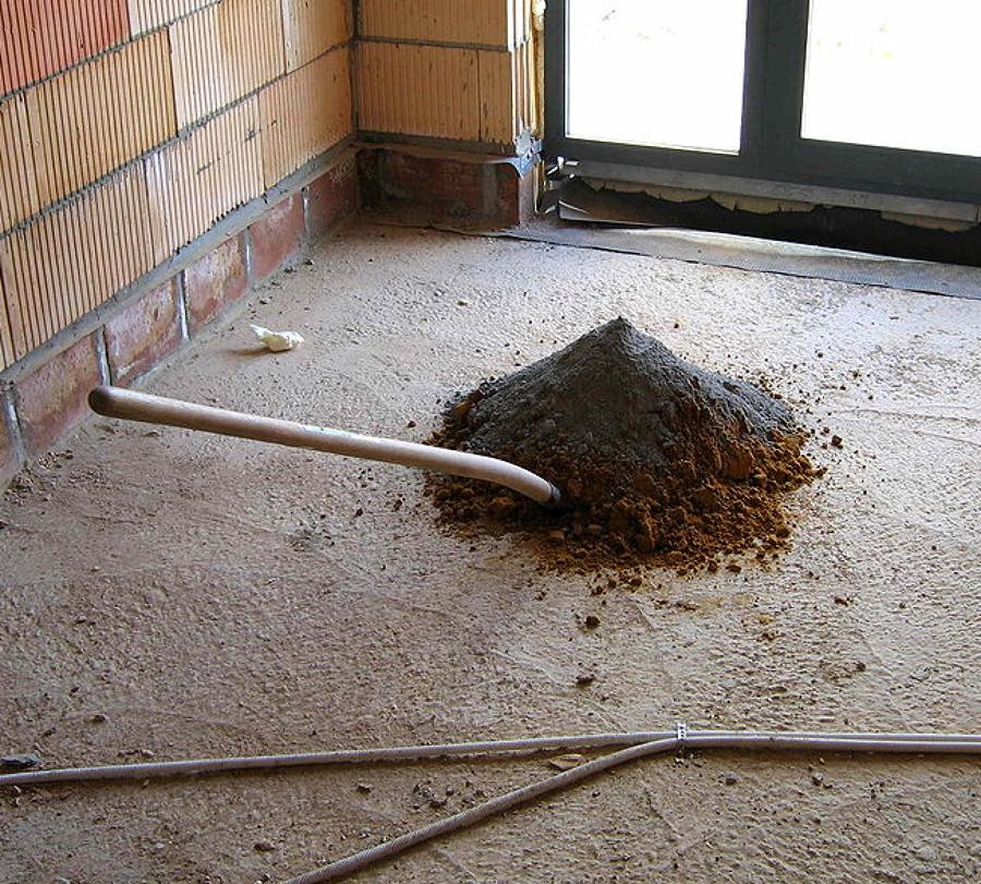 C mo cementar un suelo de arena ideas microcemento - Como solar un suelo ...