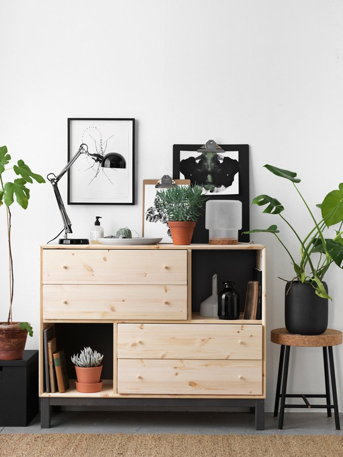 8 muebles de ikea que mejoran la decoraci n de tu casa for Comodas en ikea