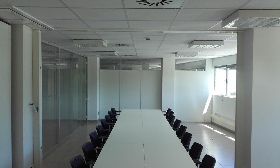 Composicón mesas modulares