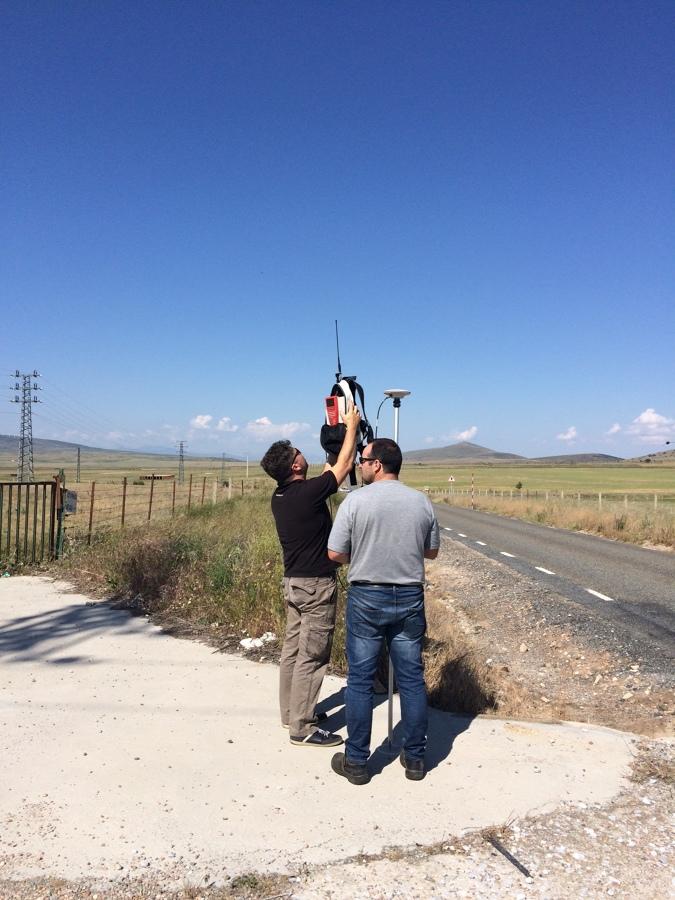 Comprobación de señal GPS