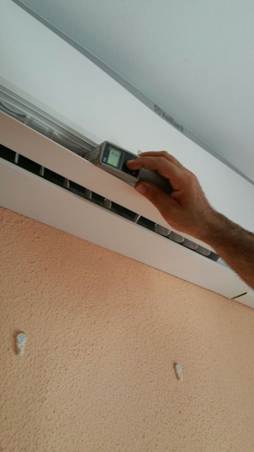 Instalaci n de aires acondicionados de alquiler lclima for Temperatura de salida de aire acondicionado split