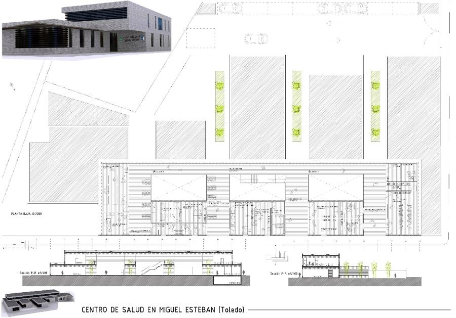 Centro de salud miguel esteban ideas construcci n edificios for Centro de salud ciudad jardin almeria