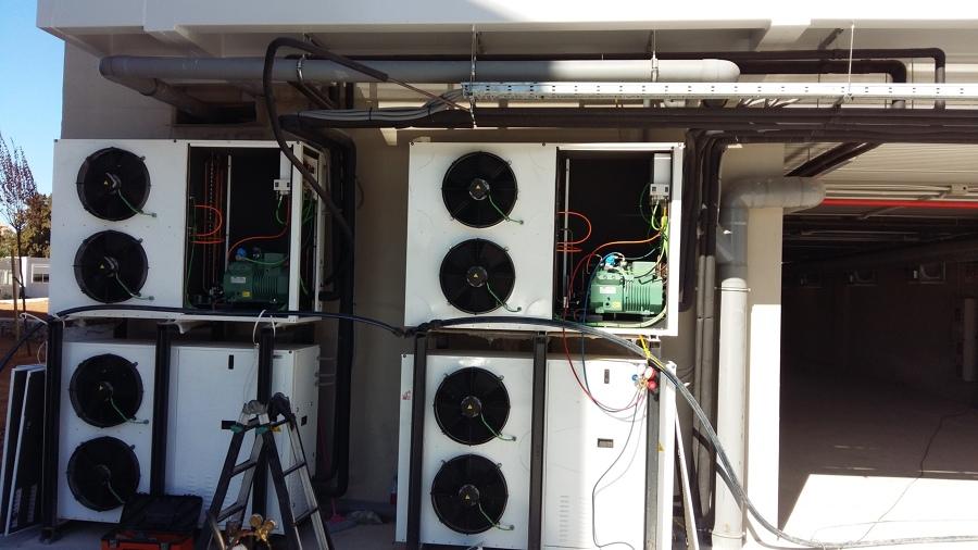 Condensadoras cámaras conservacion