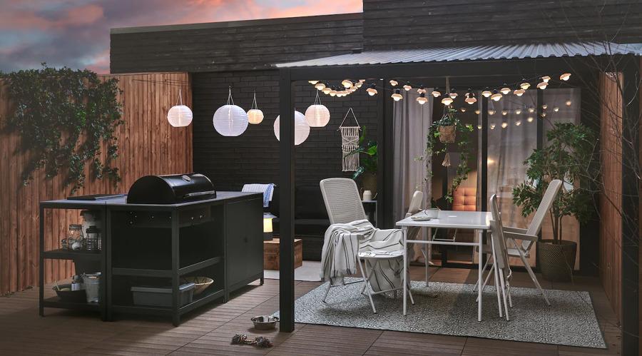 Conjunto de jardín de IKEA