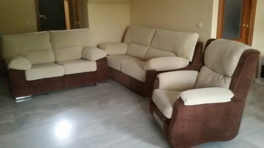 conjunto de sofa camas y butaca relax
