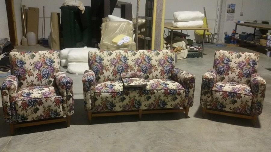 conjunto de sofas clasico