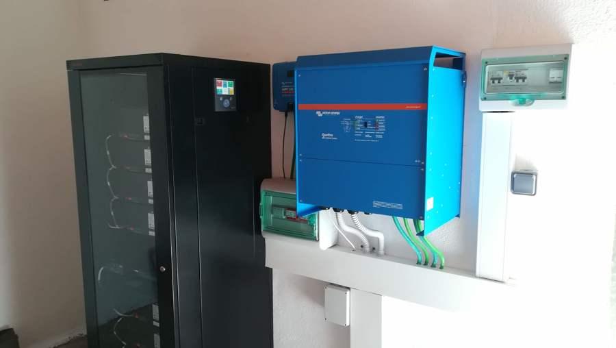 Conjunto instalación compacto