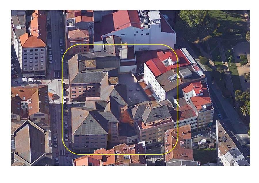 Conjunto Residencial a Rehabilitar C/Torre 88, Coruña