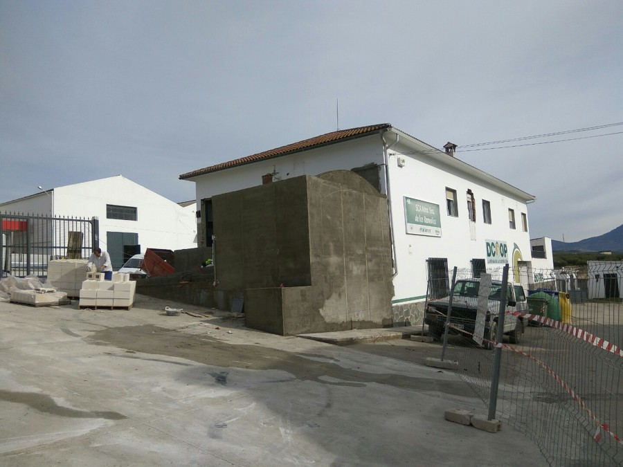 Construcción baño exterior