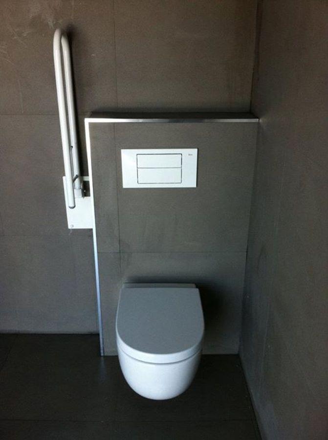Construccion de baño de minusvalidos