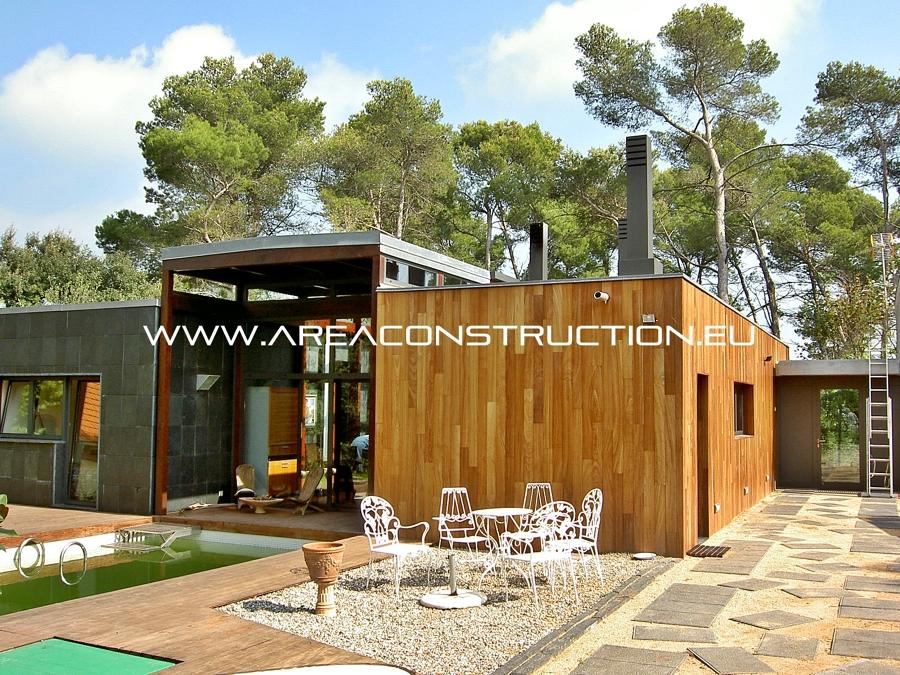 Foto construcci n de casa moderna barcelona de area construction technology 1292589 habitissimo - Construccion de casas modernas ...