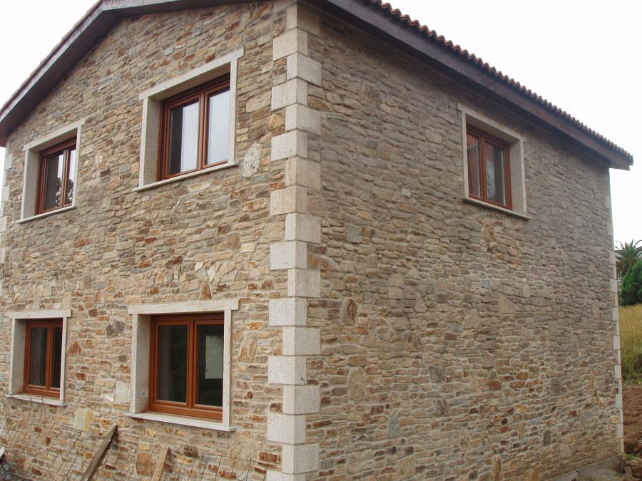 Foto construcci n de casa r stica en a coru a de acasa - Construccion casas rusticas ...