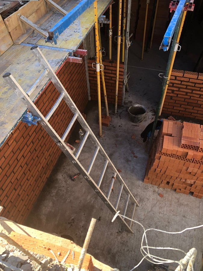 construcción de chalet en Madrid