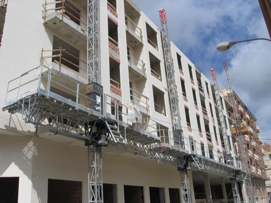 Construcción de Edificio el Almendro