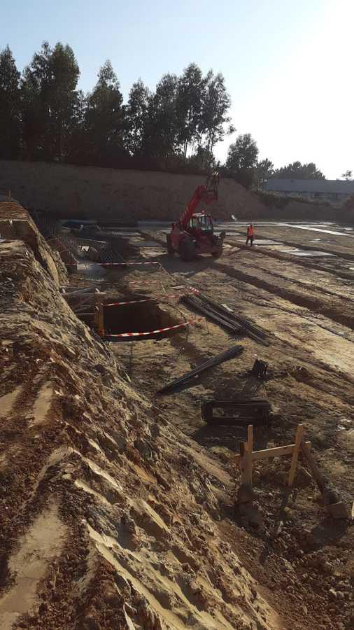 Construcción de la cimentación