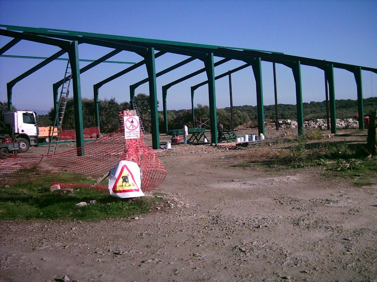 construcción de pavell´n polideportivo cubierto