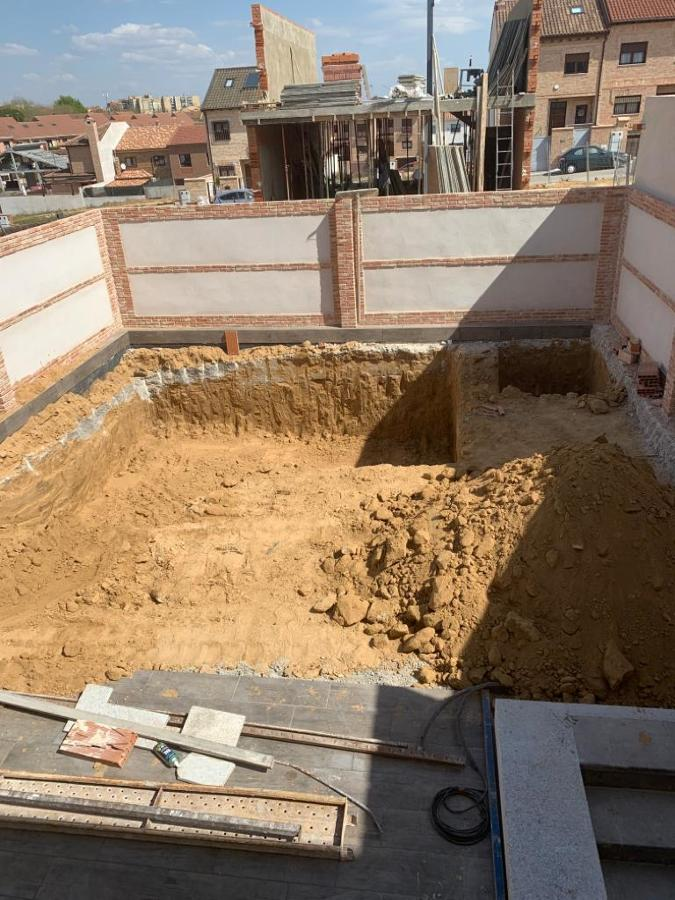 Construcción de Piscina Gunitada