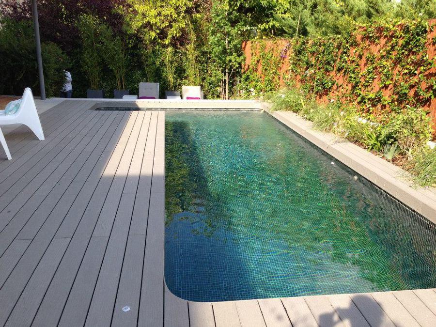 Construcci n de piscina de obra g nitada de 8 x 2 5 - Construccion de piscina ...