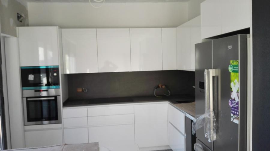 construcción de planché en cocina