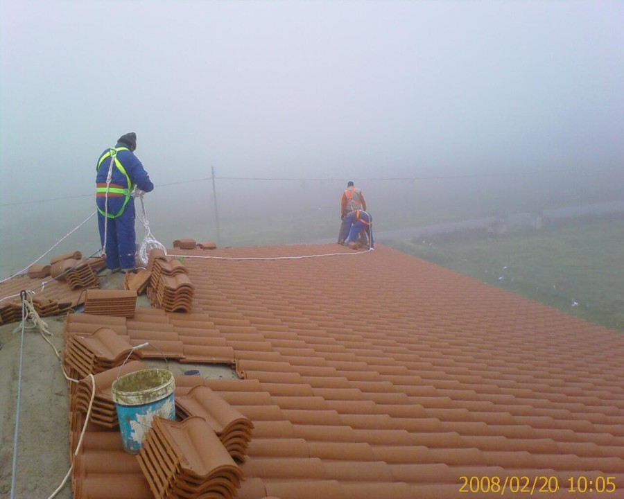 Construcción de tejado