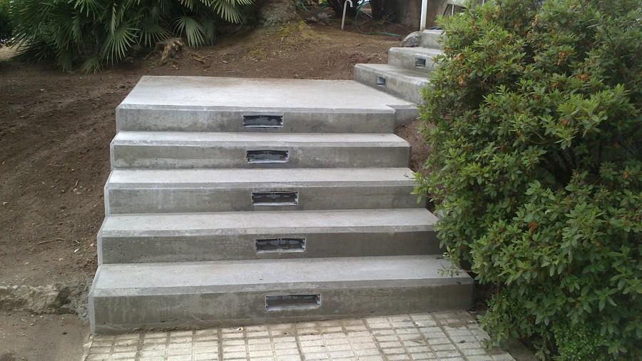 Escalera en hormig n in situ ideas construcci n casas - Escalera prefabricada de hormigon ...
