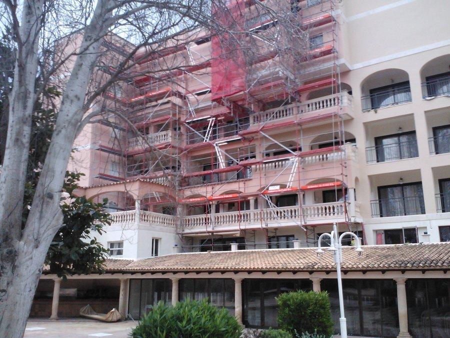Reforma hotel lago playa cala ratjada en mallorca ideas for Alquiler maquinaria mallorca