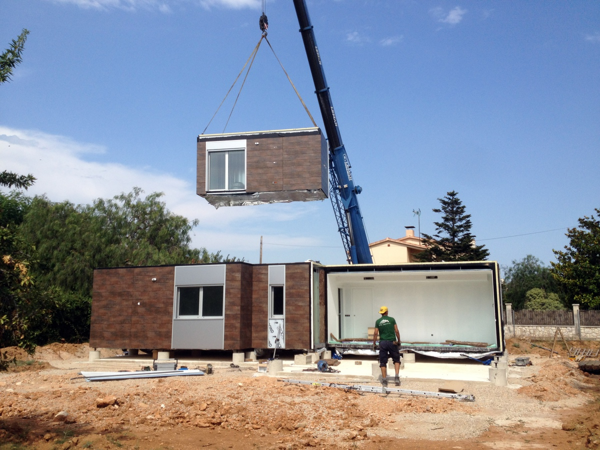 Foto construcci n modular de reviure arquitectura 438212 - Casas prefabricadas tarragona ...