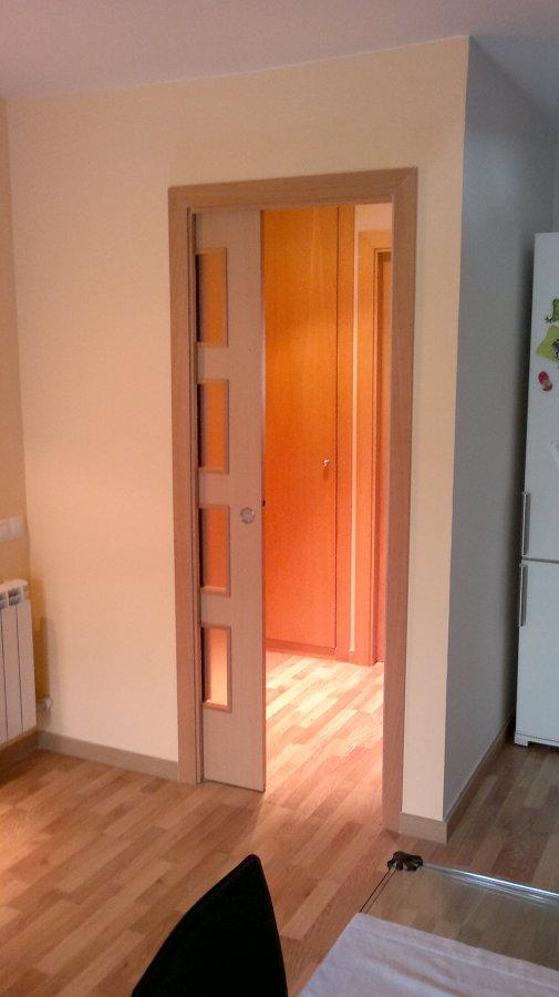 Construccion recibidor con puerta corredera ideas pladur - Puerta corredera pladur ...