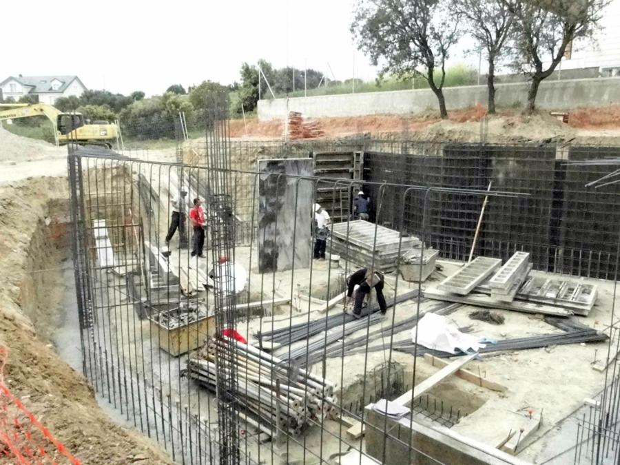Construcci n de vivienda unifamiliar en villanueva del - Casas en villanueva del pardillo ...