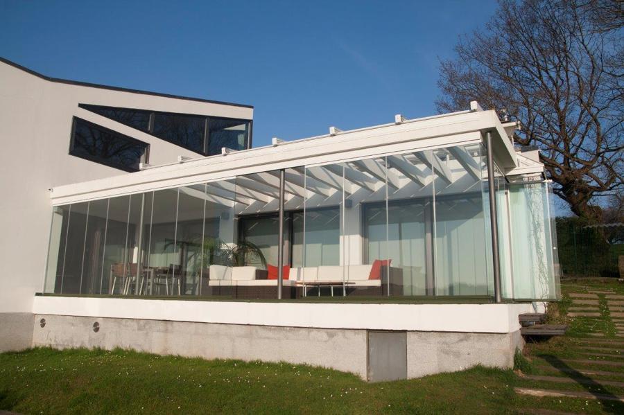 Foto construcciones met licas prieto cortinas de vidrio - Fotos de construcciones metalicas ...