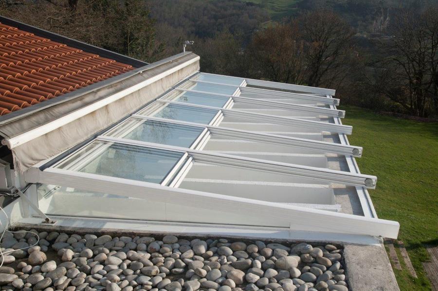 Cierre de terraza en latores ideas carpinter a aluminio for Cierres de aluminio para terrazas