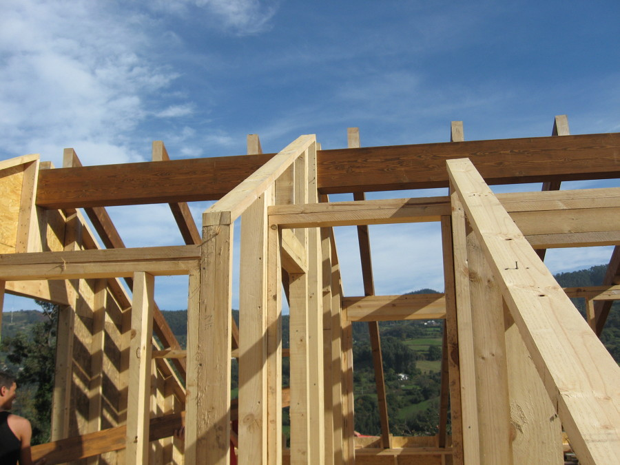 Construción casa en Gij0n, Asturias.