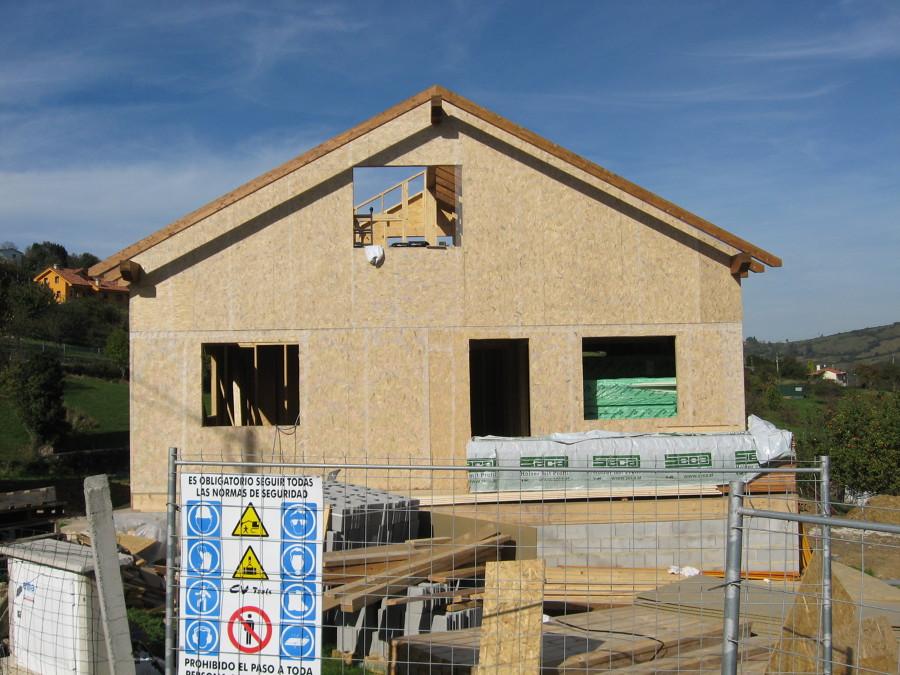 Construci n casa en gijon asturias ideas construcci n for Casas prefabricadas asturias