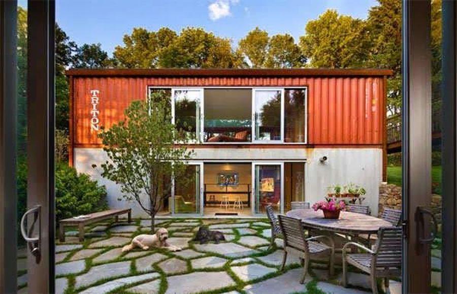 Viviendas prefabricadas casas de contenedores ideas - Contenedores usados para vivienda ...