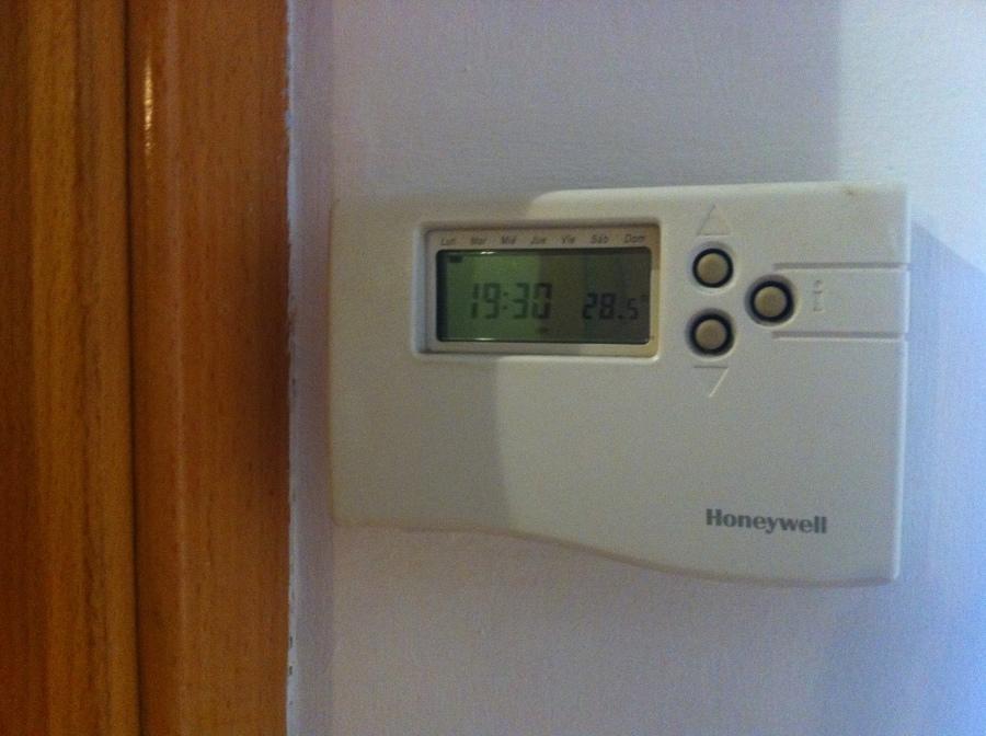 Control centralizado calor/frío de la vivienda