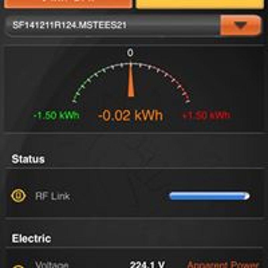 Control de la generación eléctrica online