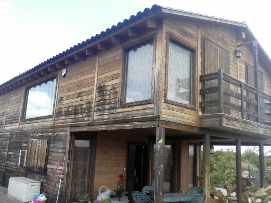 Foto corcho proyectado en casa de madera prefabricada de - Casas prefabricadas en zaragoza ...