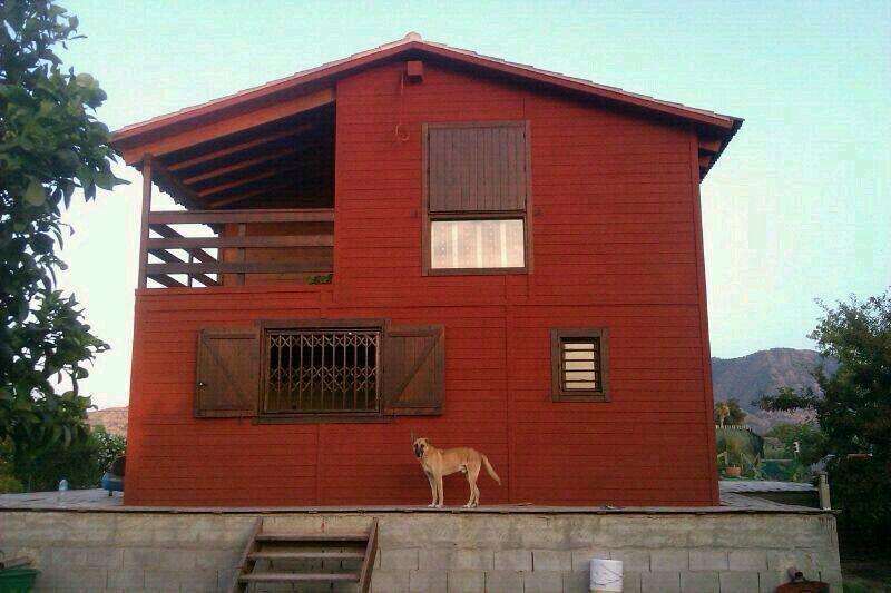 Foto corcho proyectado en casa de madera prefabricada de ymproyect s l 392767 habitissimo - Casa de madera prefabricada ...