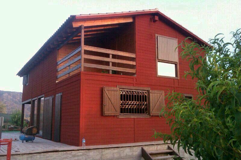 Corcho Proyectado Casa de Madera | Ideas Rehabilitación Fachadas