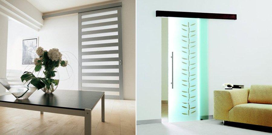 Puertas correderas que ahorran y unen espacios ideas - Puertas interiores correderas ...