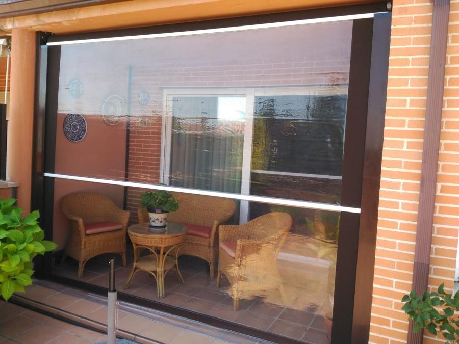 Cortavientos doble ventana