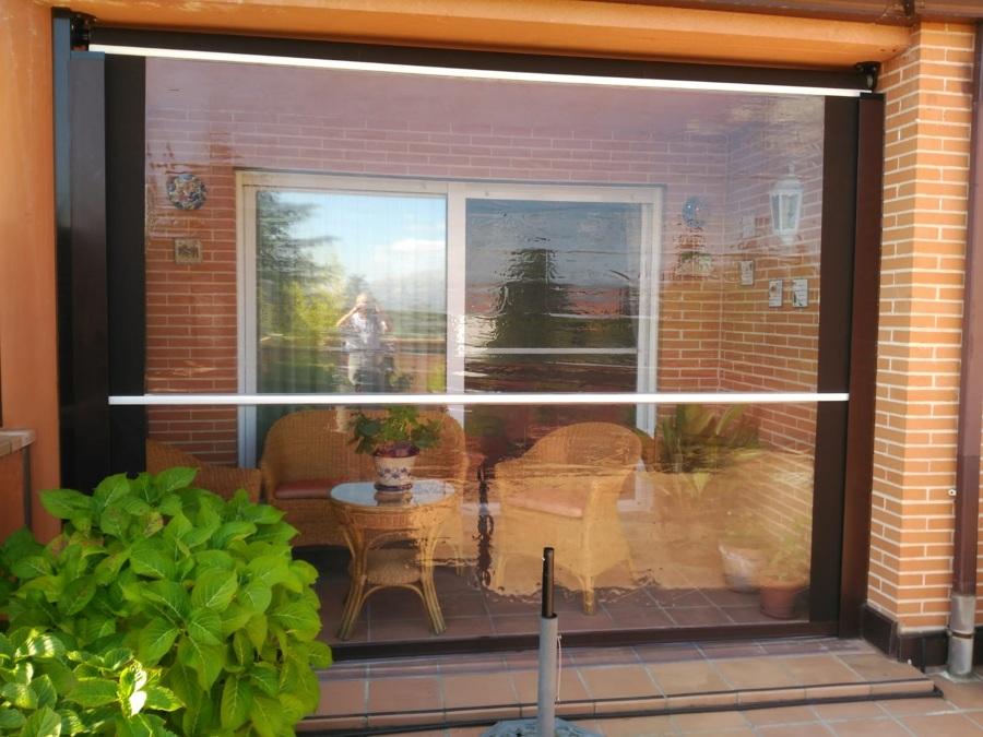 Cortavientos doble ventana PVC