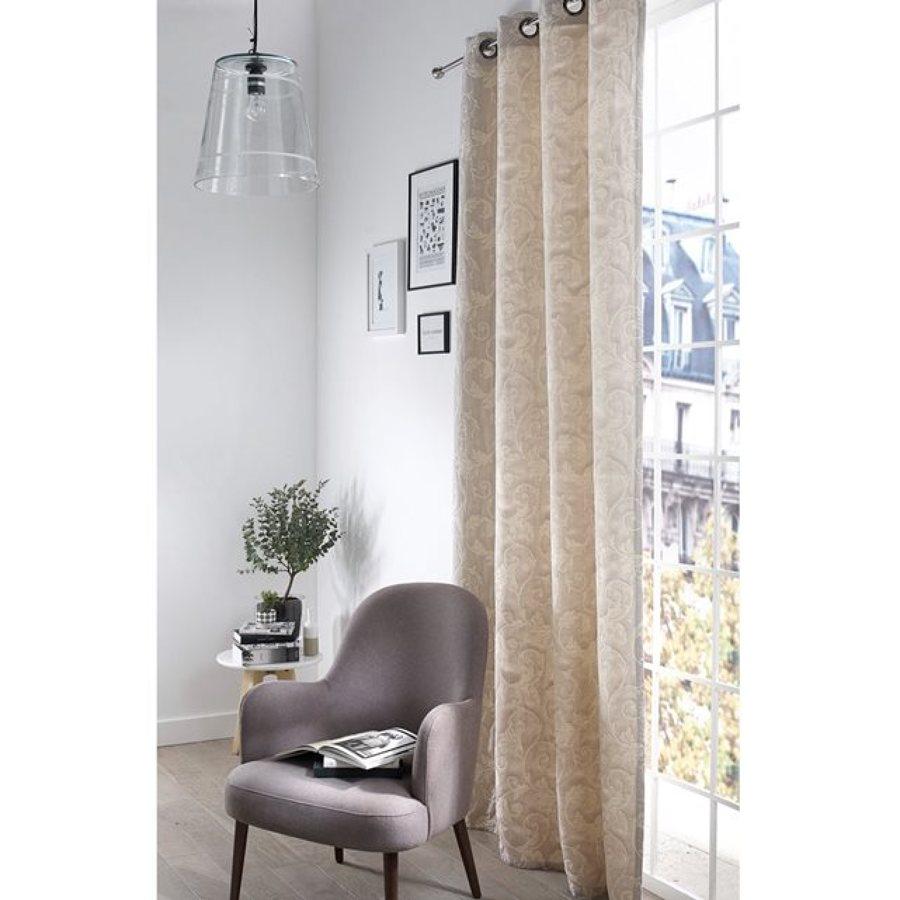 cortina tupida textura