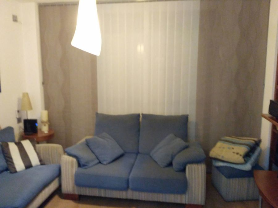 Estor enrollable con impresi n digital y cortina vertical - Estor con cortina ...
